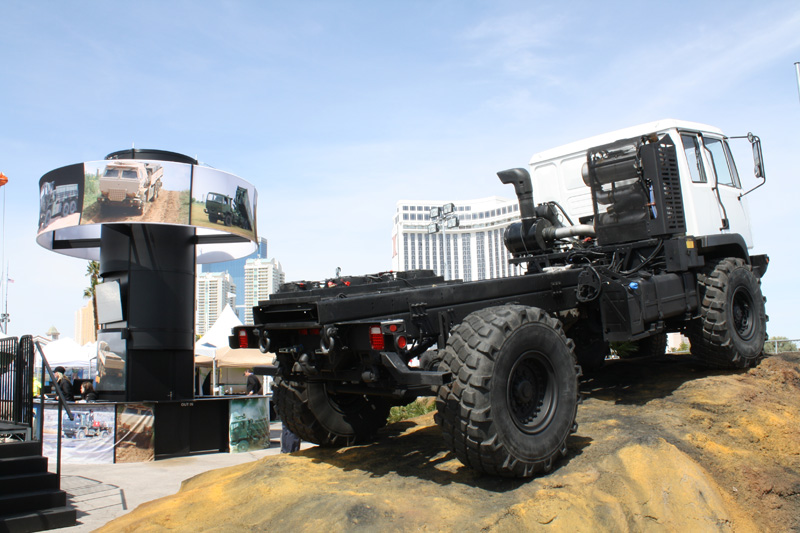 Worldwide Machinery brings a proven, time tested, ultra reliable extreme duty truck to the civilian